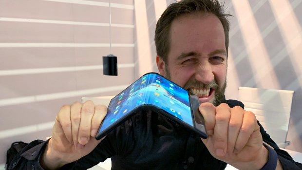 Is deze opvouwbare telefoon de toekomst?