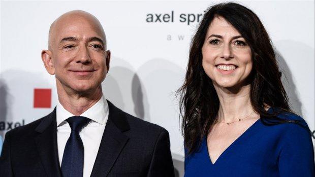 Duurste scheiding ooit? Amazon-ceo Jeff Bezos en vrouw uit elkaar