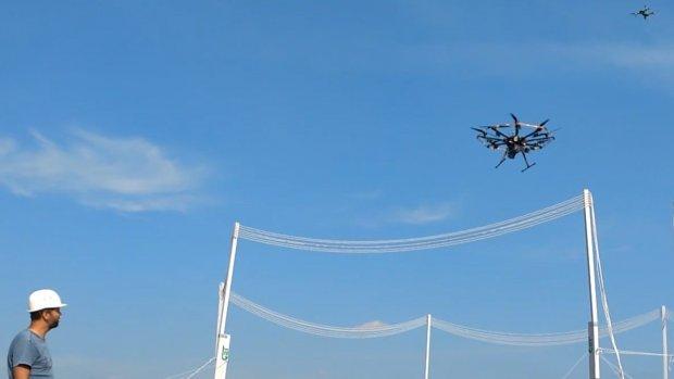 Drones kunnen non-stop vliegen dankzij draadloos opladen