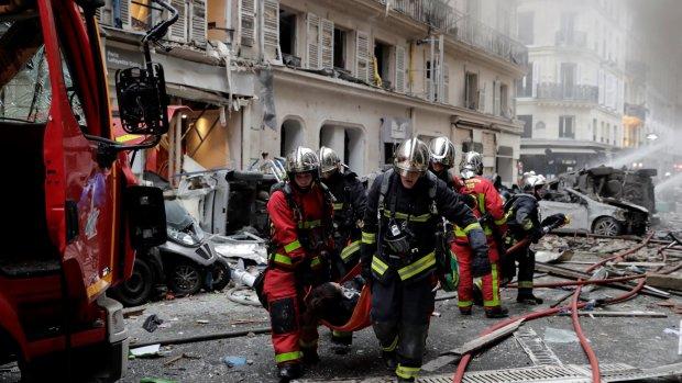 Ravage na zware explosie in centrum Parijs: veel gewonden