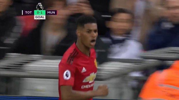 United breekt ban tegen Spurs met piekfijne counter