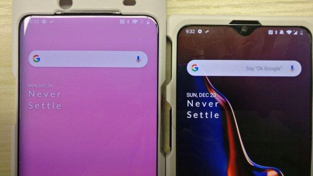 Gelekte foto toont twee versies nieuwe 'OnePlus 7'