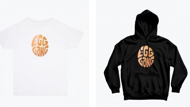 Recordbrekend Insta-ei verkoopt T-shirts en hoodies