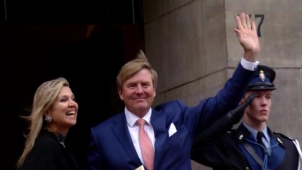 Willem-Alexander en Máxima wensen iedereen een gelukkig nieuwjaar