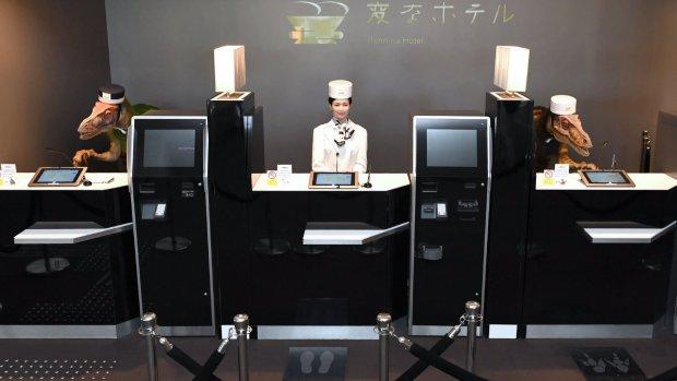 Japans robothotel ontslaat helft robotmedewerkers