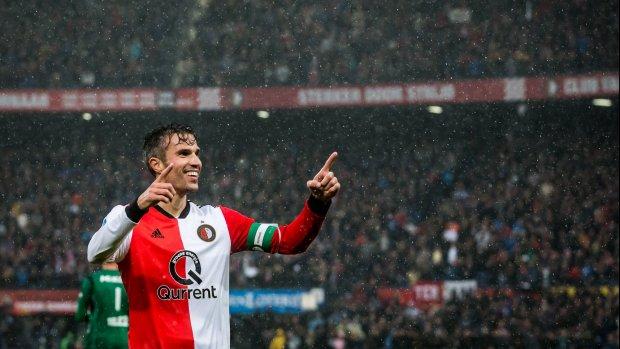 Feyenoord met Van Persie én Jørgensen