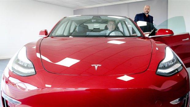 'Instapmodel' Tesla Model 3 mag de weg op in Europa