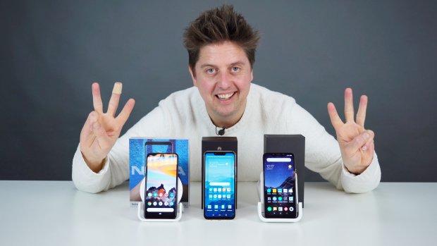 De beste smartphones voor onder de 400 euro
