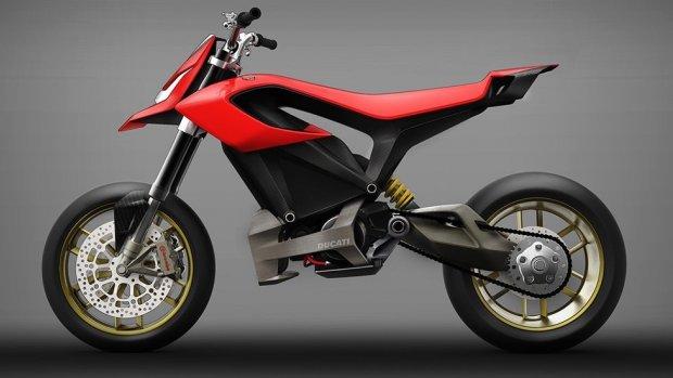 Ducati bouwt ook elektrische motorfiets