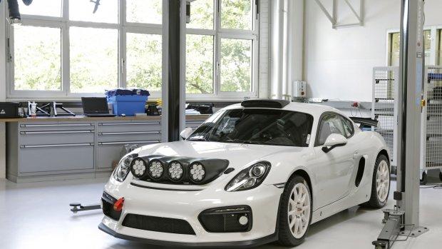 Porsche bouwt rally-auto op basis van Cayman