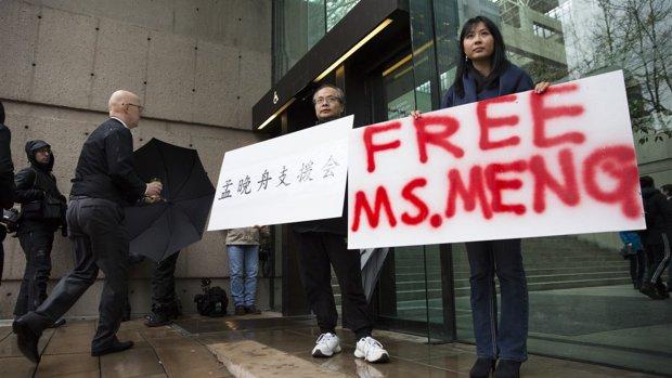 'VS gaat formeel vragen om uitlevering Huawei-cfo'