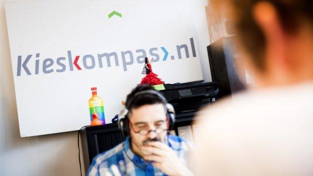 Hackers kapen website Kieskompas