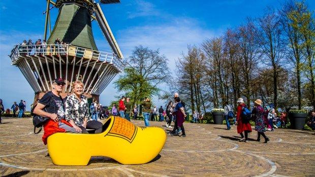 Nederland populair bij toeristen: Hanzesteden, tulpen en strand