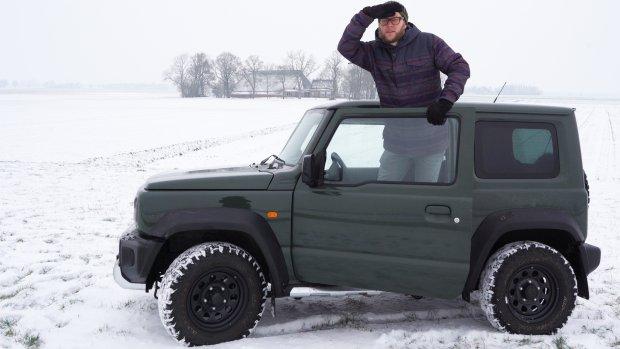 Getest: Suzuki Jimny is net een grote speelgoedauto
