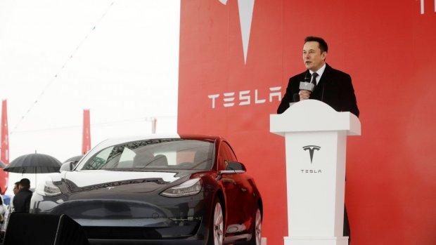 'Tesla wil net over Duitse grens grote fabriek bouwen'