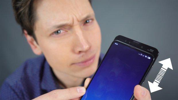 Getest: deze smartphone schuif je uit voor een selfie