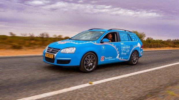 Langste reis met elektrische auto wordt nog langer