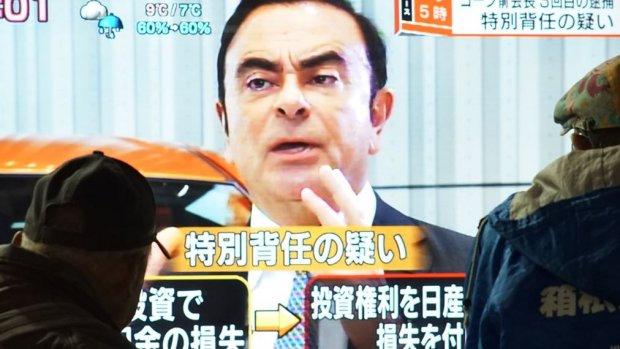 Gevallen ceo Ghosn: 'Sta er alleen voor en heb geen horloge'