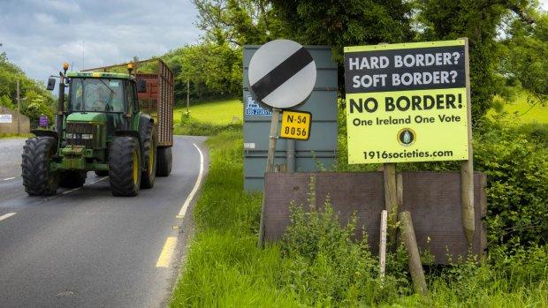 Politie Noord-Ierland: onmogelijk om grens te bewaken na brexit