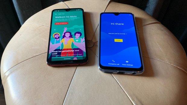Motorola brengt nieuwe smartphones in Nederland uit