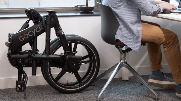 Deze e-bike vouw je in tien seconden op