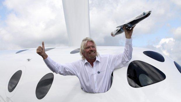 Richard Branson gaat deze zomer zelf de ruimte in