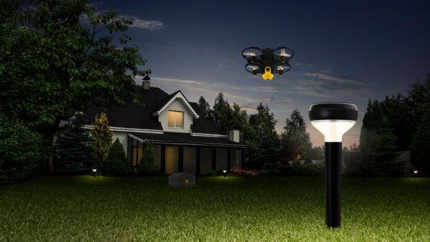 Deze vliegende beveiligingscamera bewaakt je huis