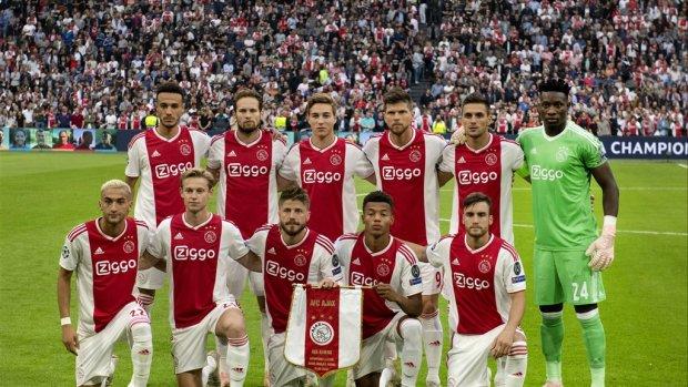 Ajax blijft Real Madrid en PSG voor met jeugdspelers in CL