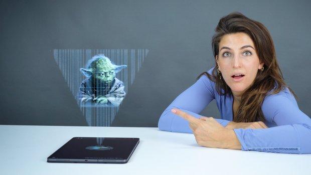 Geen schermen meer: zijn hologrammen de toekomst?