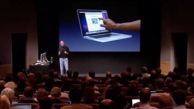 'Apple test Macs met touchscreen en gezichtsherkenning'