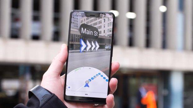 Google test nieuwe Maps-functie met augmented reality