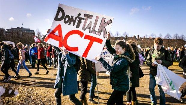 Nieuw klimaatprotest scholieren op 14 maart