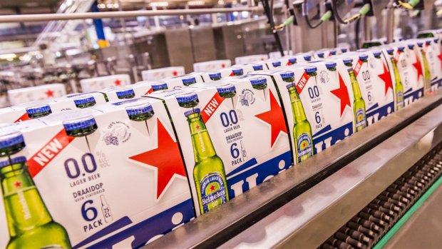 Succes van alcoholvrij bier stuwt de verkoopcijfers van Heineken