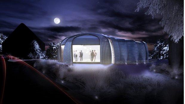 De race om het eerste 3D-geprinte gebouw van Europa
