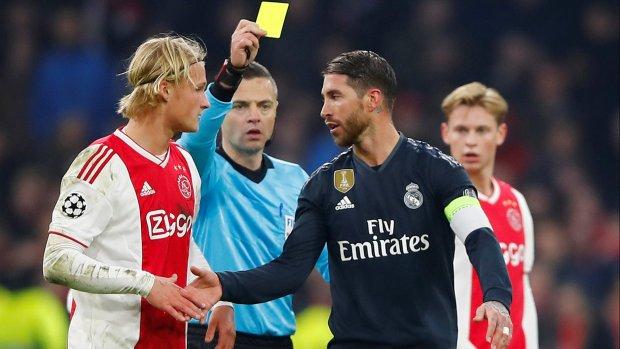 Schorsing dreigt voor Ramos na 'bewuste' gele kaart