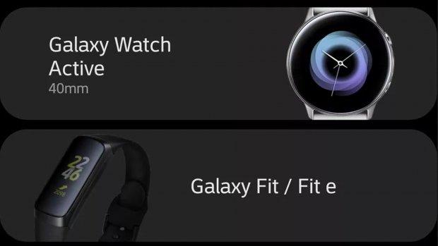 Samsung onthult nieuwe wearables per ongeluk al
