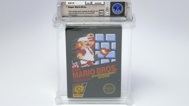 Super Mario Bros. uit 1985 geveild voor 100.000 dollar