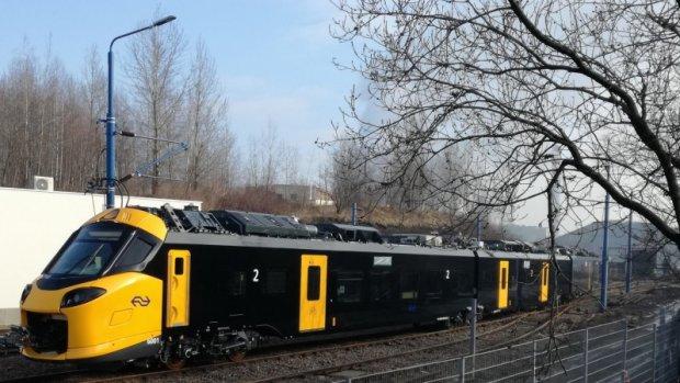Nieuwe Intercity NS op de rails voor testrit