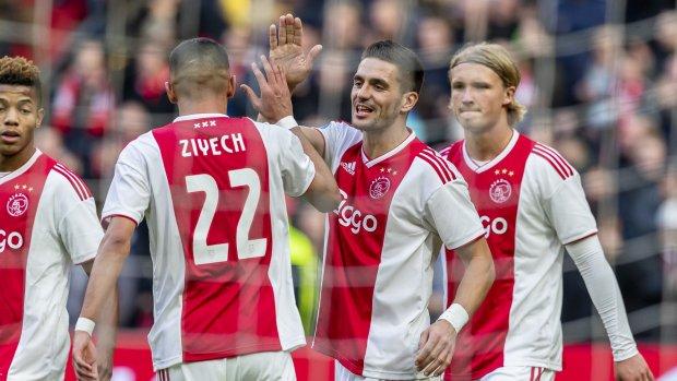 Ajax haalt met ruime cijfers uit tegen NAC