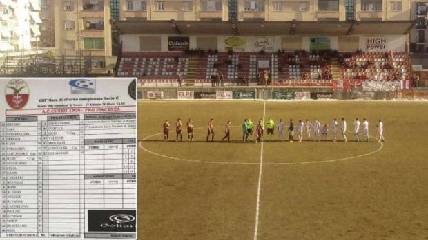 Bizarre wedstrijd in Serie C: 20-0
