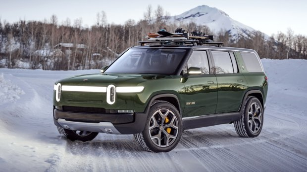 Amazon investeert in producent elektrische auto's Rivian