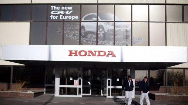 'Honda sluit fabriek in Verenigd Koninkrijk, 3500 banen op spel'