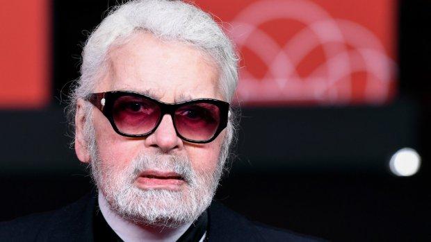Modekoning Karl Lagerfeld  (85) overleden