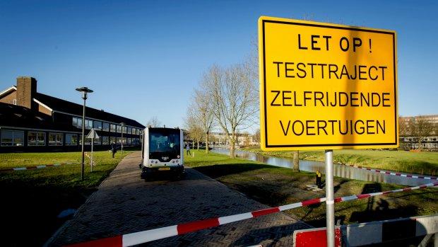 Zelfrijdende auto komt eraan: minister wil snel strenge regels