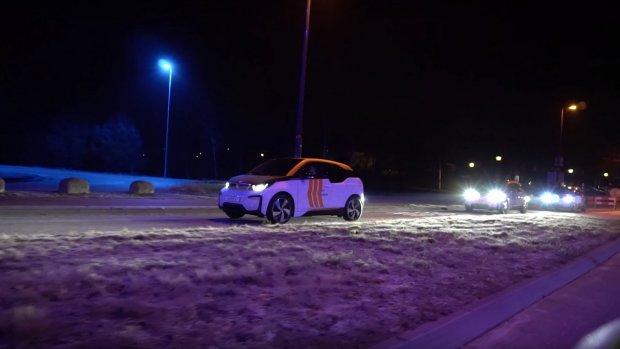 Autodeelbedrijf Amber voert eerste test 'autotrein' uit