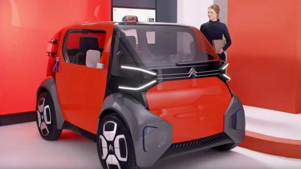 Citroën werkt aan elektrische tweezitter voor de stad