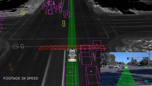 Zelfrijdende auto's Waymo herkennen handgebaren politie