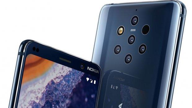 Nieuwe Nokia-telefoon heeft 5 camera's achterop