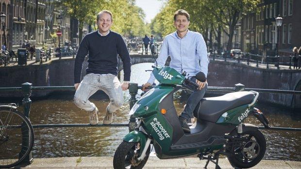 Felyx breidt uit: meer elektrische deelscooters in de Randstad