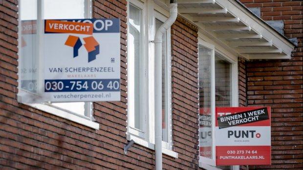 Huizenmarkt koelt af, 'eerste voorzichtige prijsdalingen'